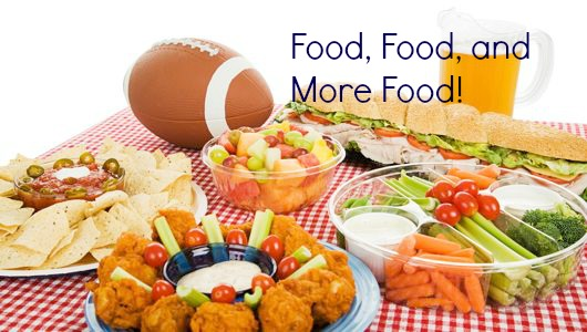 Super Bowl food Statistics
