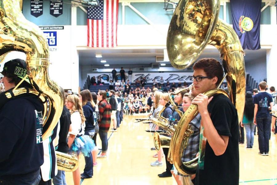 Under Appreciation of LCHS Band