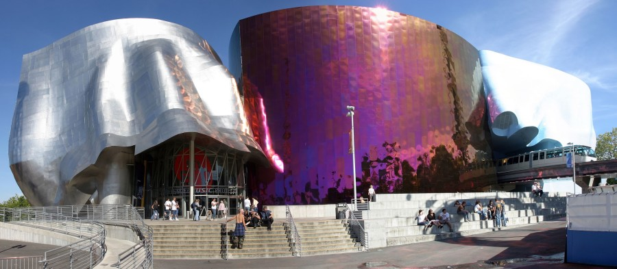 EMP+Museum+in+Seattle