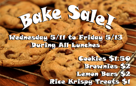 Bake Sale Next Week!