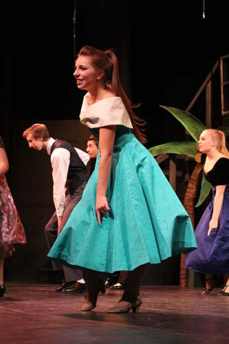 Patty+Simcox+%28Brittany+Ellenbecker%29+shows+her+dance+moves+during+the+upbeat+songs%0Aplayed+at+the+school+dance.