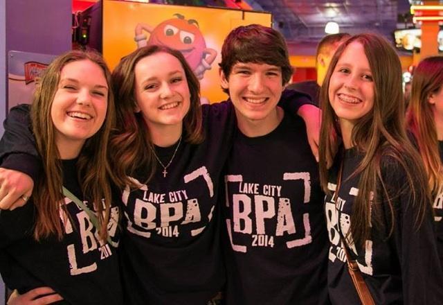 Lake City BPA members at Wahooz