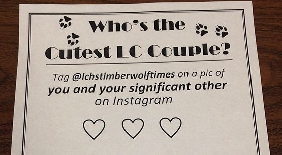 LCHS Cutest Couple Poster