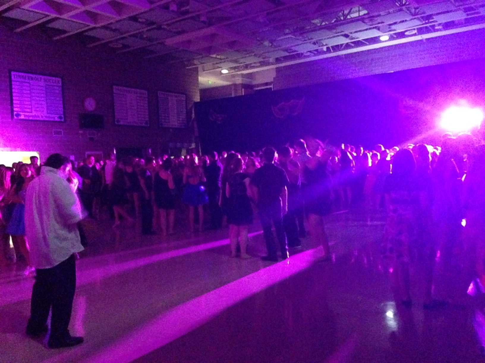 The 2015 Homecoming dance was packed!