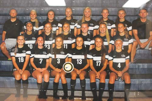 Varsity Girls Soccer Team