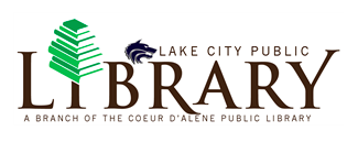 The new logo of Lake City Public Library courtesy of cdalibrary.org!